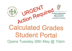 Calculated Grades Student Portal