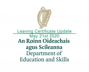Leaving Certificate - Calculated Grades – Detailed Guidance Issued